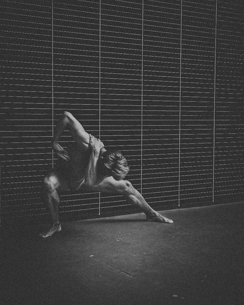 Der Tänzer Martin Schirbel