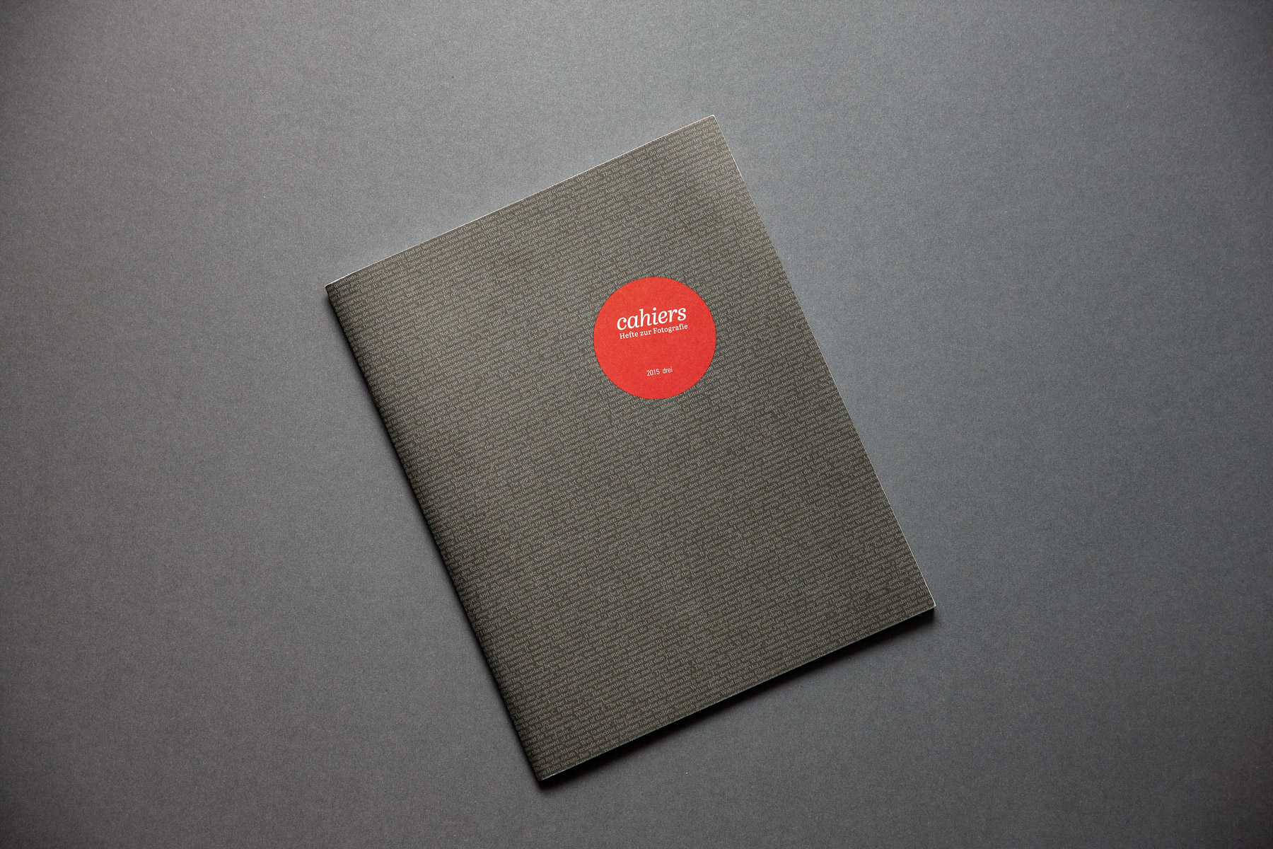 Cahiers #3 Cover full
