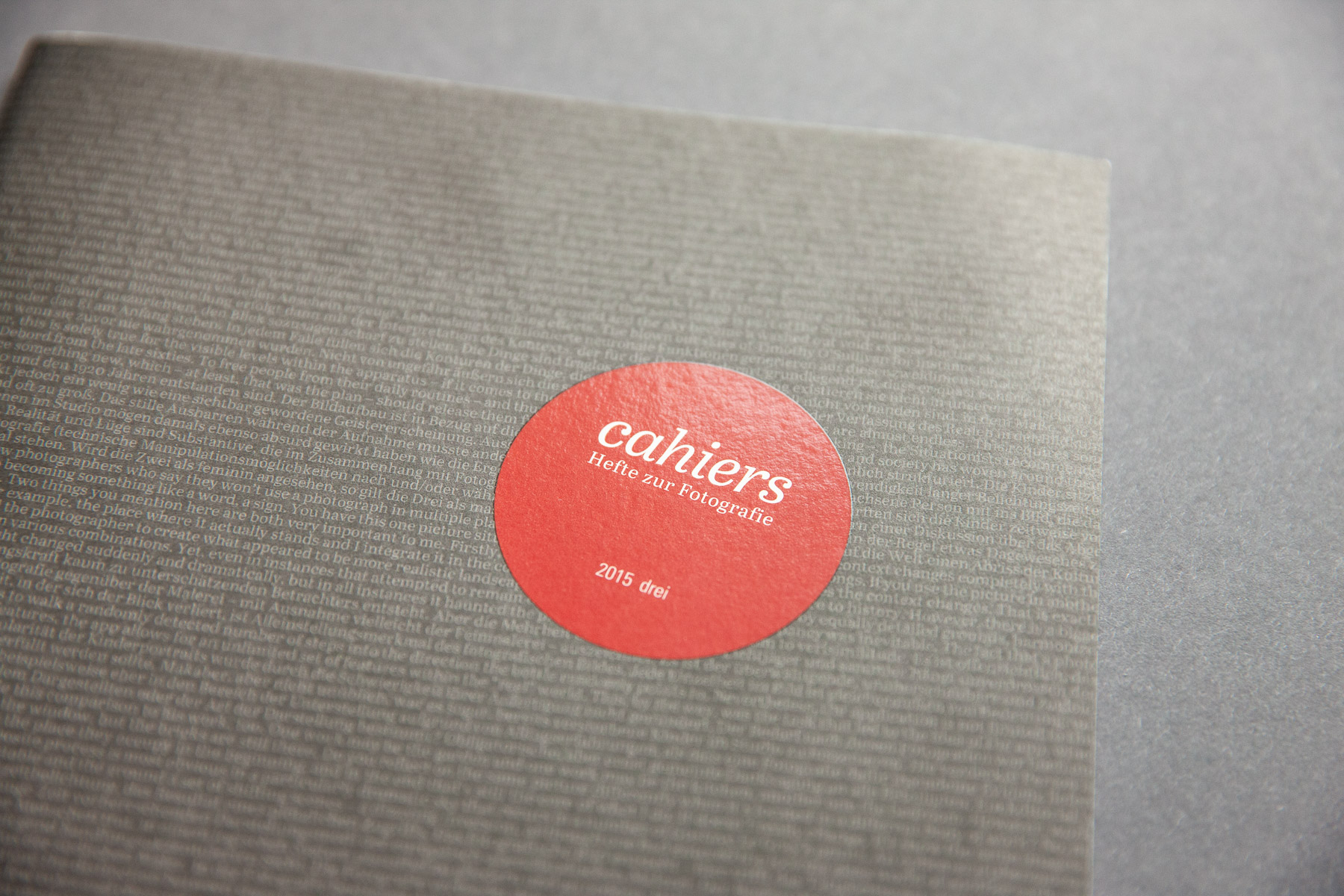 Cahiers #3 Cover