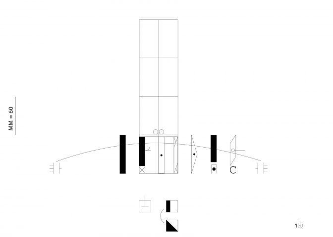 Das Kinetogramm zum dritten Videoloop